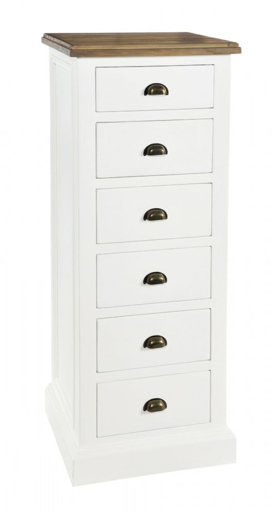 Lulworth 6 Drawer Tall Chest
